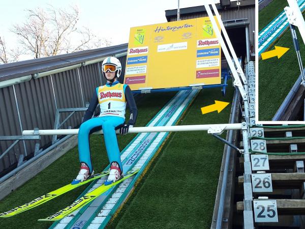 GS-8-70 Ski-jumping ramp