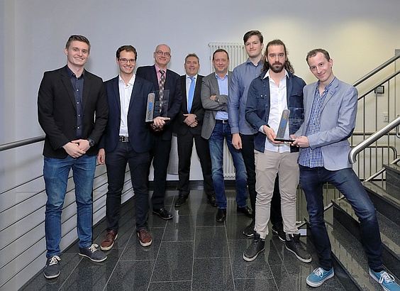INNOVACE 2018 Two Winning Teams
